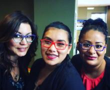 Bright, trendy frames available from Up Town Eyes™ Luxury Eyewear Boutique