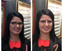 Choose 1 or 2 - Stylish Eye Glasses Frames from Up Town Eyes™ Luxury Eyewear Boutique