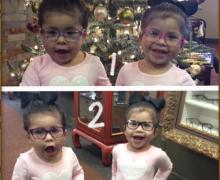Choose 1 or 2 - Colorful Eye Glasses Frames for Children