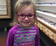 Colorful Eye Glasses Frames for Children