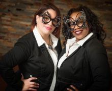 Michelle Caban and Shameka Berryman, Administrative Staff Members