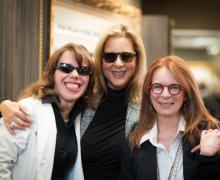 Michelle Titzkowski, Practice Manager, Dale R. Savin, Creative Director and Julie Engholt, Administrative