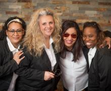 Mayra Orenday, Administrative, Chris Potthast, Ophthalmic Technician, Nikisha Henderson, Optician, Yolanda Bland, Optician