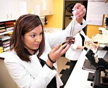 Optical lab technology